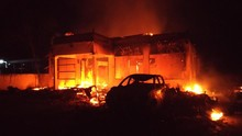 Polsek Candipuro Lampung Dibakar, Warga Kejar 20 Pembuat Onar