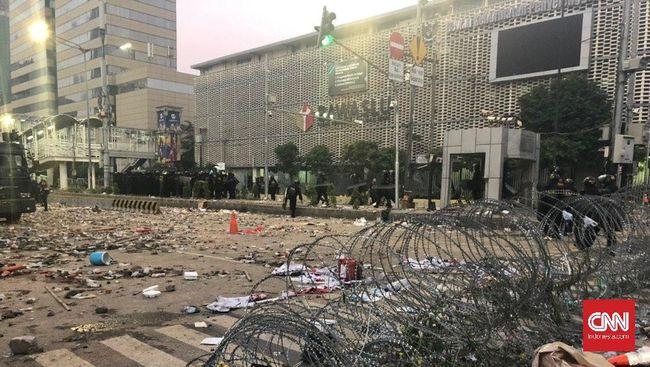 Pemerintah Provinsi DKI Jakarta mengaku tengah menghitung kerugian yang timbul akibat kerusuhan pada 21-22 Mei lalu.