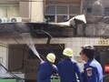 VIDEO: Petugas Padamkan Kebakaran di Pos Polisi Sabang