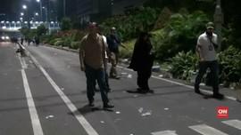 VIDEO: Polisi Amankan Perempuan Pembawa Ransel Mencurigakan