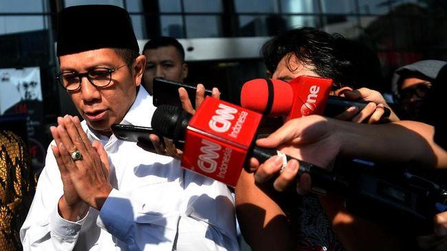 Keterangan Eks Menteri Agama Lukman Hakim Saifuddin dibutuhkan KPK terkait penyelidikan penyelenggaraan ibadah haji di Kemenag.
