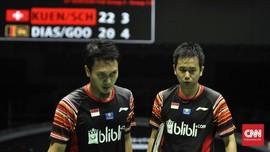 FOTO: Indonesia Kalah Namun Juara Grup di Piala Sudirman