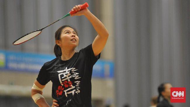 Greysia Polii mengungkapkan alasan menangis di pelukan Apriyani Rahayu usai juara ganda putri Yonex Thailand Open, Minggu (17/1).