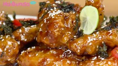 Menu Buka Puasa: Crispy Yakiniku Wings, Manis Gurih Kaya Protein