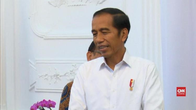 VIDEO: Jokowi Klaim Tak Miliki Hambatan Bertemu Prabowo