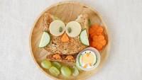 """<span class=""""im"""">Nah, kalau anak kurang suka nasi, bisa buat bento dari roti gandum ini, Bun. Cukup dibentuk menyerupai burung hantu, ditambah hiasan dengan menggunakan telur, wortel, dan mentimun. Sederhana kan? (Foto: iStock)</span>"""