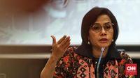 Menteri Keuangan Sri Mulyani berharap kebijakan penurunan tingkat suku bunga acuan BI bisa menggenjot investasi di Tanah Air pada semester II 2019. (CNN Indonesia/Hesti Rika).