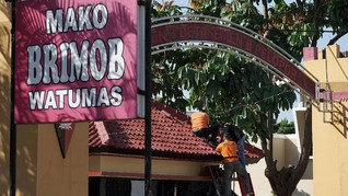 Empat Orang Diperiksa soal Kasus Penembakan Brimob Purwokerto