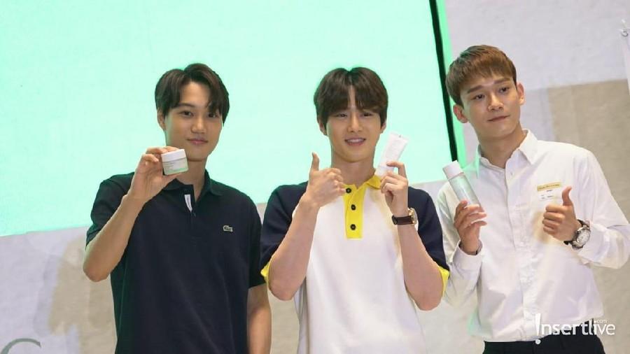 Suho, Chen, & Kai EXO Ungkap Rahasia Kulit Halus Mereka