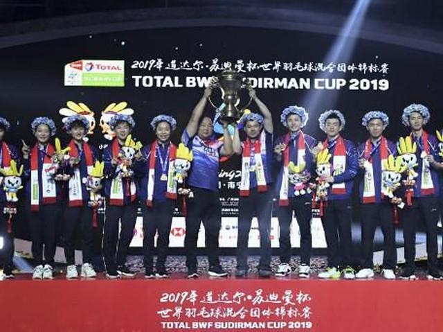 China Juara Piala Sudriman 2019