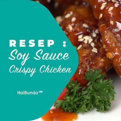 Resep Soy Sauce Crispy Chicken