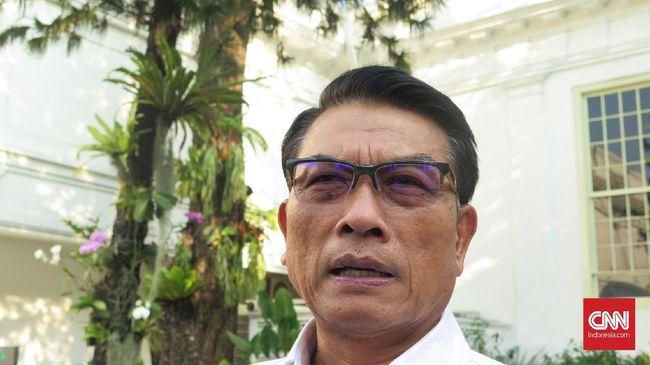 Kepala Kantor Staf Presiden Moeldoko menilai imbauan Prabowo Subianto agar pendukungnya tak perlu berbondong-bondong ke MK adalah langkah yang bijaksana.