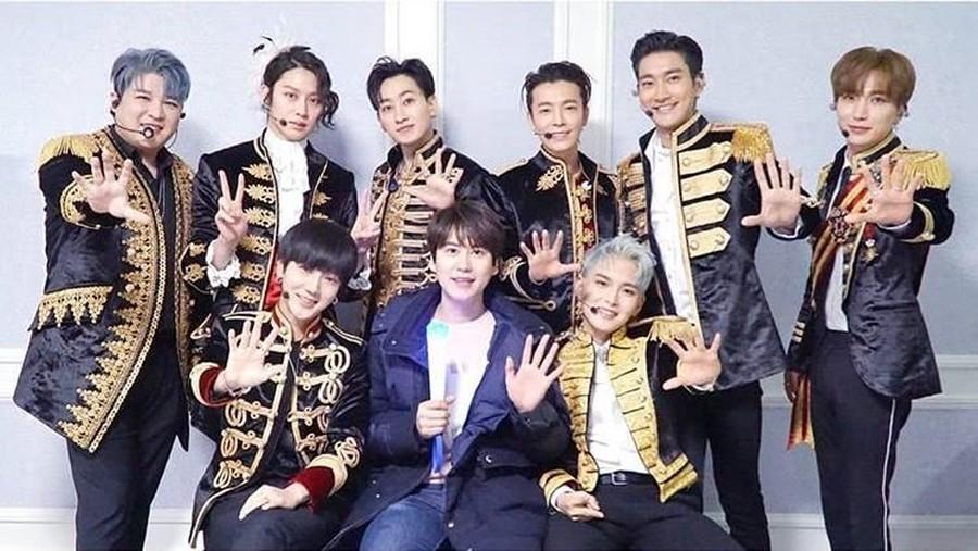 Super Junior Dipastikan Comeback Hanya dengan 9 Personel