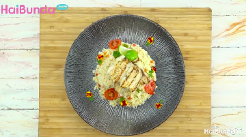 Menu Sahur: Baked Fish With Coconut Rice, Lezatnya Berkelas!