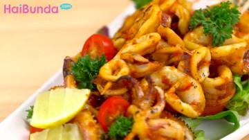 Menu Buka Puasa: Sate Cumi Pedas, Kreasi Gurihnya Olahan Seafood