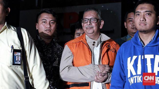 Sofyan Basir mengundurkan diri dari jabatannya sebagai Direktur Utama PT PLN (Persero) setelah ditahan oleh KPK Selasa (28/5).