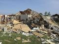 Ohio Porak Poranda Dihantam Tornado, Satu Orang Tewas