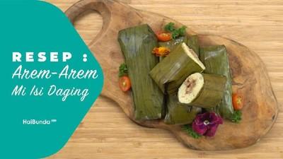 Resep Arem-arem Mi Isi Daging