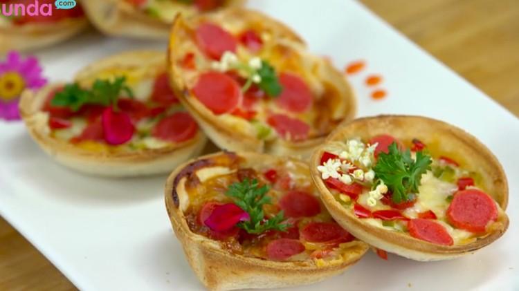 Bosan dengan hidangan manis serba Lebaran? Coba pizza ala rumahan yang gampang dibuat yuk!