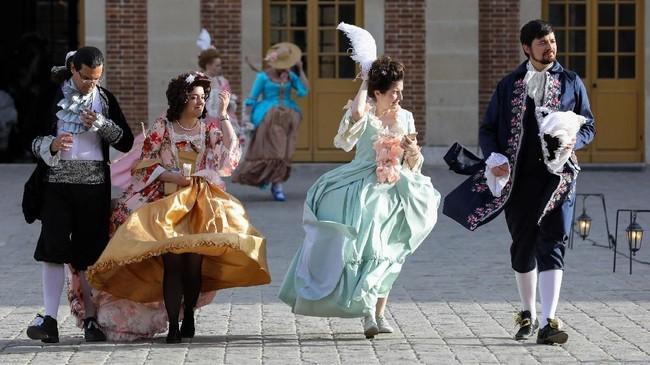 Galant Festivities digelar di Prancis untuk merayakan dan mengenang kejayaan dan kekuasaan Versailles.