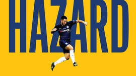 INFOGRAFIS: Jejak Eden Hazard di Chelsea
