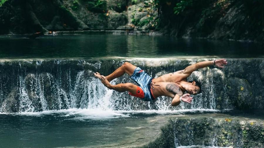 MTMA Jelajahi Queen Waterfall yang Pernah Didatangi Putri Diana