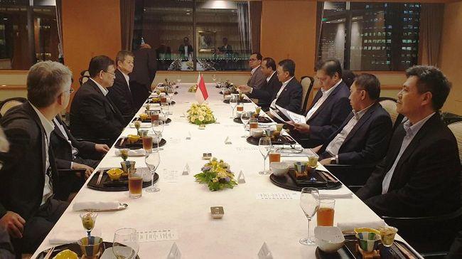 Informasi ini diungkap Kementerian Perindustrian setelah Menteri Perindustrian Airlangga Hartarto bertemu dengan pihak Toyota Motor Corp di Jepang.