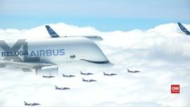 VIDEO: Airbus Ulang Tahun Ke-50 Undang Staf Terbang Bersama