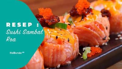 Resep Sushi Sambal Roa