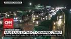 VIDEO: Kemacetan Kembali Terjadi di GT Cikarang Utama