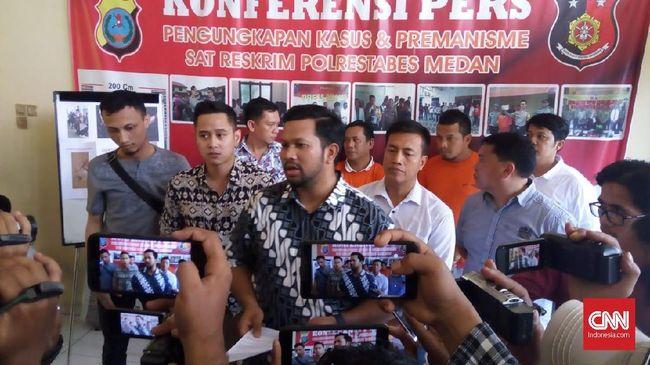 Pimpinan GNKR Sumut, Rabualam Syahputra ditetapkan sebagai tersangka dan ditahan di Polrestabes Medan. Dia dijerat pasal soal makar, penghasutan, berita bohong.