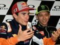 Marquez Masa Bodoh dengan Rossi Sampai Madrid di Ambang Juara