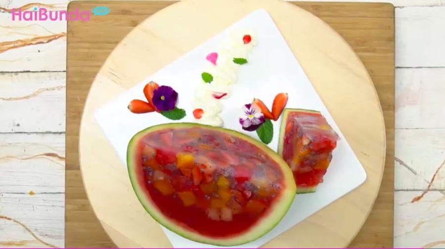 Menu Buka Puasa: Puding Semangka, Dessert Segar Kaya Vitamin