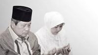 <div>Berdoa bersama untuk korban musibah gempa bumi di Palu dan Donggala. (Foto: Instagram/ @aniyudhoyono)</div><div></div>