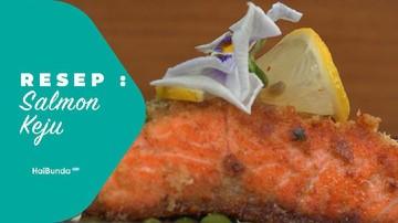 Resep Salmon Keju