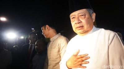 Air Mata Cinta SBY Mengantarkan Kepergian Ani Yudhoyono