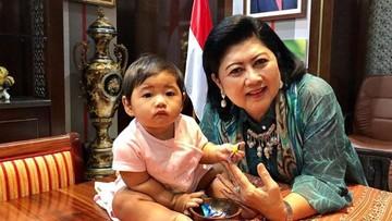 Mengenang Kebersamaan Ani Yudhoyono dengan Cucu Tercinta