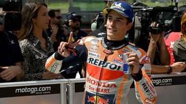FOTO: Marquez Raih Pole MotoGP Italia 2019