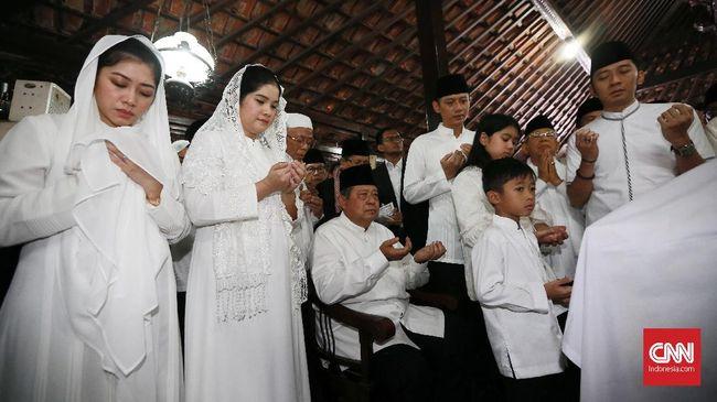 Masa Berkabung, Keluarga SBY Tak Gelar Open House Lebaran