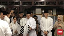 Tahlilan Ani Yudhoyono, Suasana Duka Masih Selimuti Cikeas
