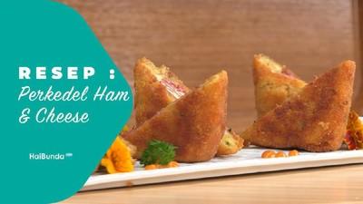 Resep Perkedel Ham and Cheese