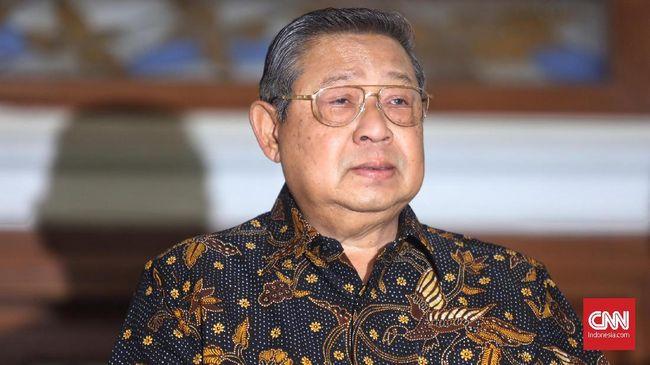 Ketua Majelis Tinggi Partai Demokrat, Susilo Bambang Yudhoyono (SBY) ajak seluruh kader untuk berjuang mempertahankan partai dari Moeldoko Cs.