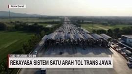 VIDEO: Rekayasa Sistem Satu Arah Tol Trans Jawa