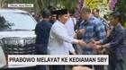 VIDEO: Prabowo Melayat ke Kediaman SBY