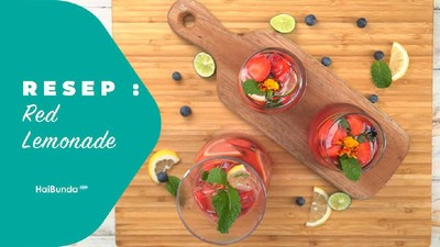 Resep Red Lemonade