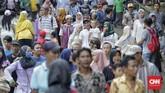 Pantai dan kebun binatang 'legendaris' di Jakarta menjadi langganan wisatawan saat musim libur, khususnya lebaran.