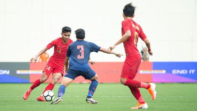 Pelatih Timnas Indonesia U-23, Indra Sjafri, mengaku memetik pelajaran usai anak asuhnya takluk 1-2 dari Thailand U-23 pada ajang Merlion Cup 2019.