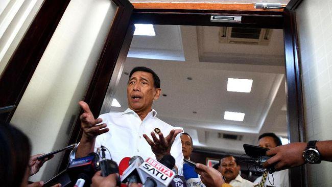 Menko Polhukam Wiranto mengatakan Gedung Majelis Rakyat Papua (MRP) dibangun untuk rakyat yang dananya juga berasal dari pajak warga Papua sendiri.