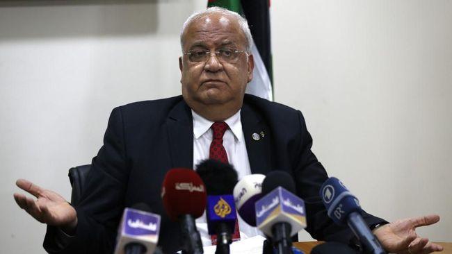 Otoritas Palestina menyebut komentar duta besar AS yang membenarkan pencaplokan Israel atas Tepi Barat menunjukkan sikap minim 'kedewasaan politik.'