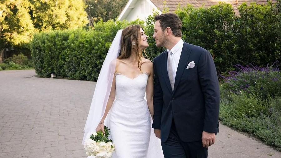 Chris Pratt Langsungkan Pernikahan di Depan Mantan Istri